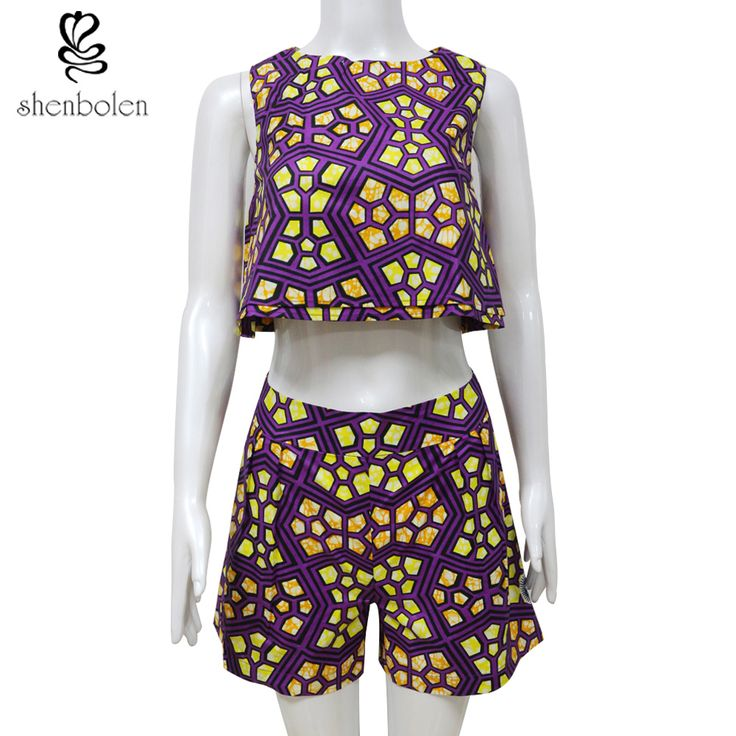 2017 ankara Traditional African Clothing African Clothes Manufacturers Two Piece Set Women  Bodycon tops+Pants Africaine Print