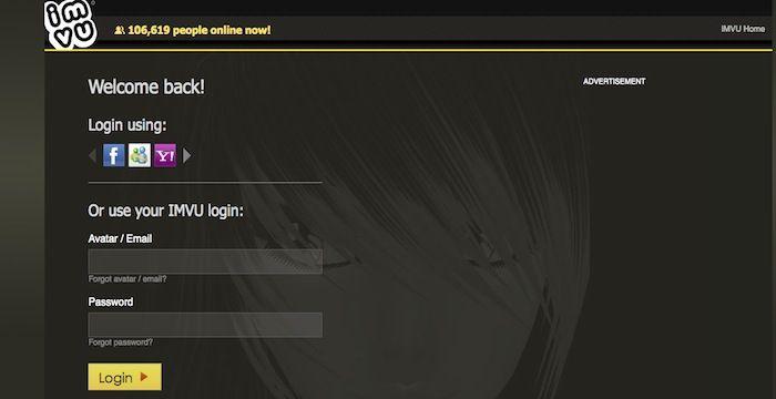 IMVU Login - Login to IMVU.com Online Page - Games & Chat