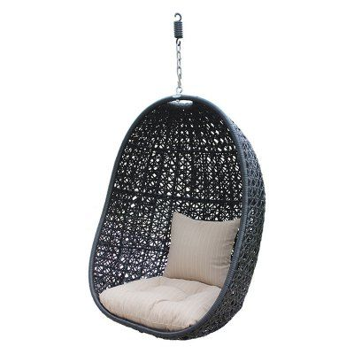 Outdoor Harmonia Living Nimbus Hanging Basket Chair With Optional Stand    HL NMBS CB