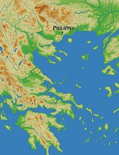 wikipedia roman battles  | Battle of Philippi - Wikipedia, the free encyclopedia