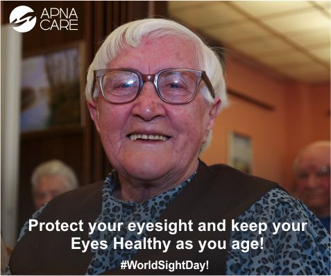 #WorldSightDay  This World Sight Day, pick up some tips on how to take care of your eyes. Read our blog http://apnacare.in/world-sight-day-13th-oct-2016  #ApnaCare #healthcare #elderlycare #homehealthcare #Alzheimers #endAlz #parkinsons #stroke #arthritis #neuro #neurology #neuroscience #cognitive #neurobrain
