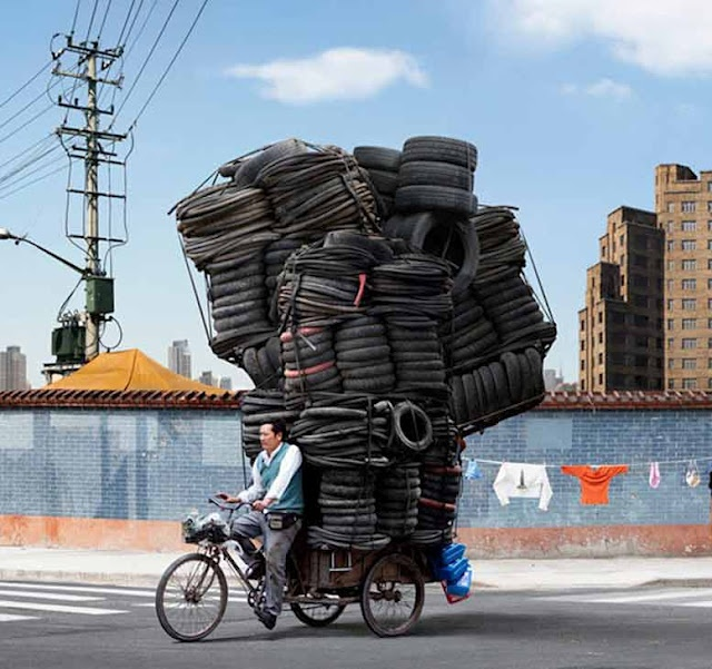 Delivery bike - looks impossible!!!