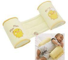 Bebé Niño nacido Sueño Posicionador Anti vuelcos Forma Almohada Proteger Plano