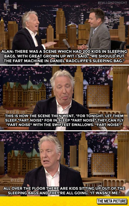 Snape's Sophisticated Sense Of Humor