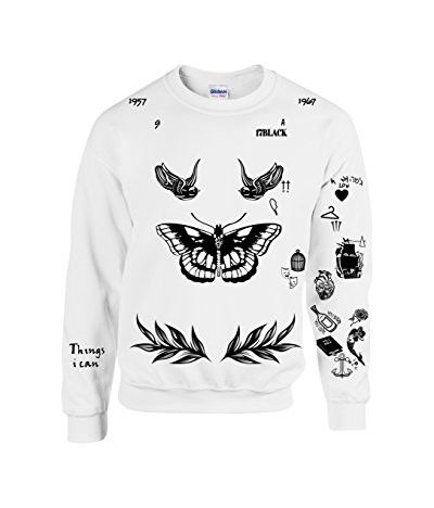 Allntrends Harry Style Sweatshirt Tattoo One Direction Shirt...