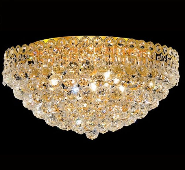 Century Collection 20 Dia Large Crystal Flush Mount Ceiling Light Ceiling Lights Large Crystals Crystal Ceiling Light
