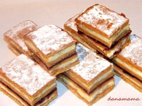 Divina-prajitura in foi - Prajiturici si altele | Blog culinar