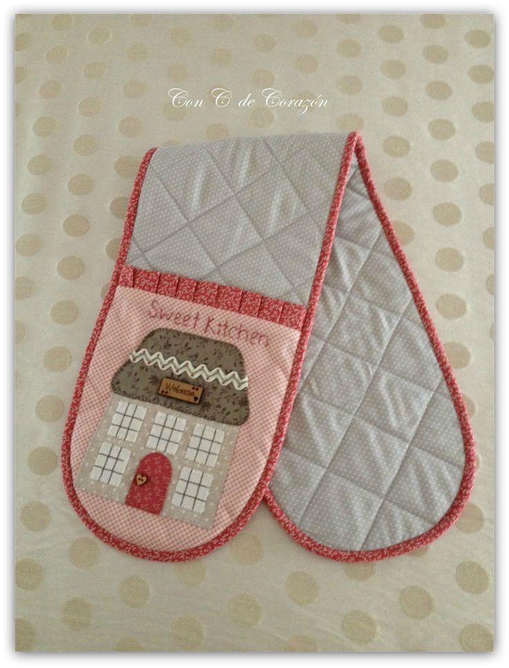 540 best Cocina & Patch images on Pinterest | Dish towels, Laundry ...