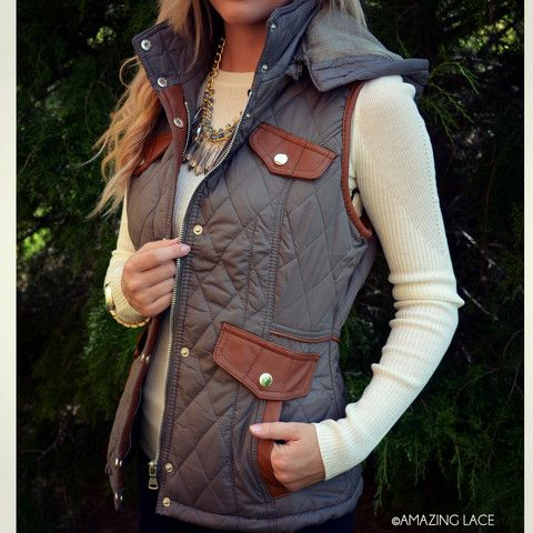 Cabin Fever Olive Puffer Vest..... someone know where i can get this??