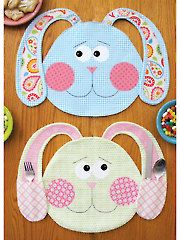 All Ears Placemat Sewing Pattern  Easter sewing pattern