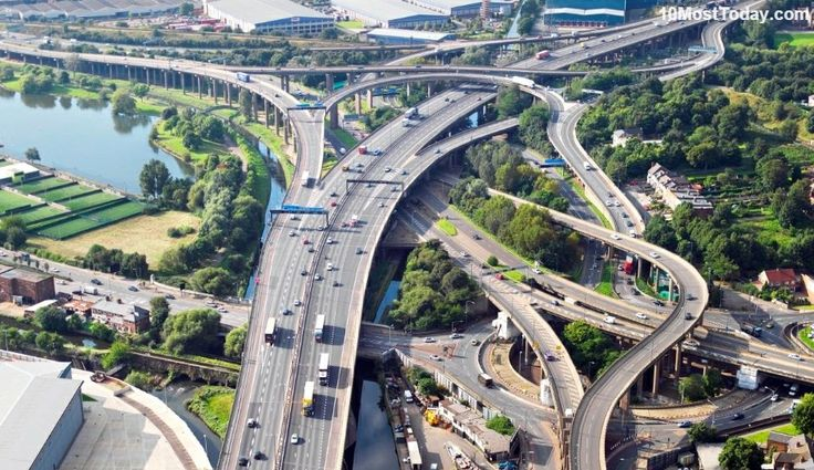 Gravelly Hill Interchange, England #amazingarchitectures #travel