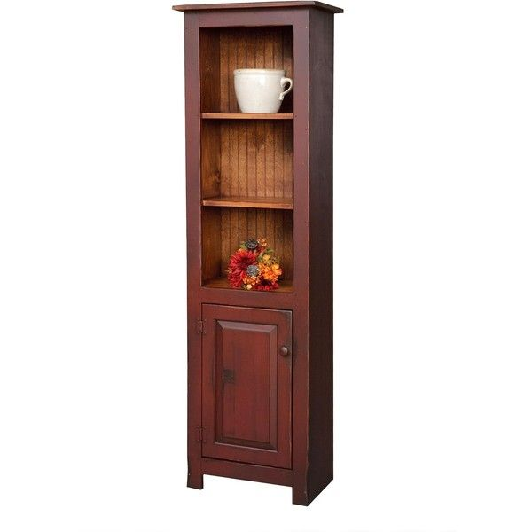 Pine Wood Library Cabinet ($420) ❤ liked on Polyvore featuring home, furniture, storage & shelves, cabinets, home storage furniture, pine furniture, storage cabinets, pine wood cabinets and finishing wood furniture