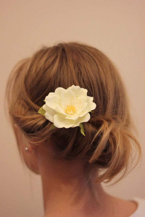 Hair pins Flower hair pins Bridal Flower hair pins Wedding