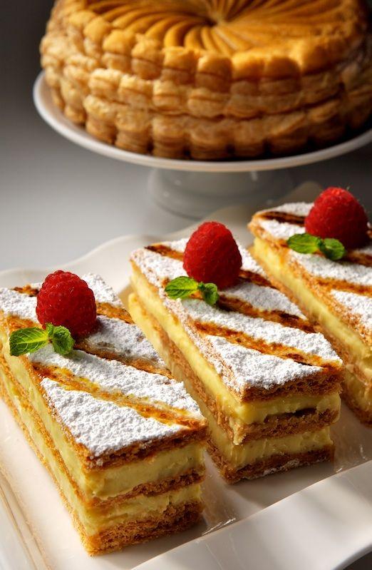 Napoleon creamy dessert