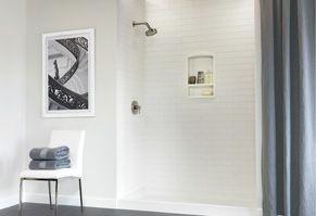 28 Best Swanstone Showers Images On Pinterest Bathroom