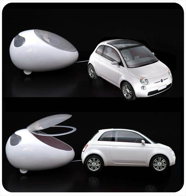 FIAT 500 Lounge Pod