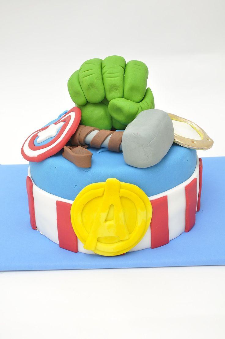 Tortas Infantiles para niños : Torta Vengadores 2
