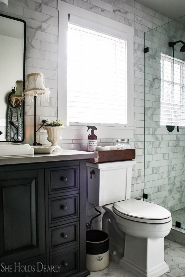 Cottage Style Decorating Ideas Master Bathroom By Sheholdsdearly