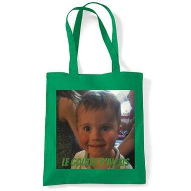Cadeau malin: Tote bag imprimé photo