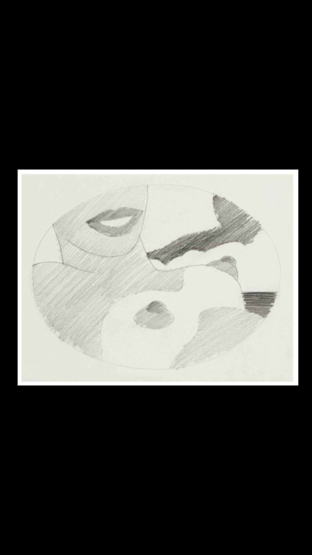 """Tom Wesselmann - """"Study for Great American Nude"""", 1965 - Graphite on paper - 19 x 27,3 cm"""