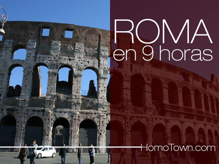 Cómo conocer #Roma en 9 horas? - #Turismo #TurismoGay - http://wp.me/p2lEiA-oR