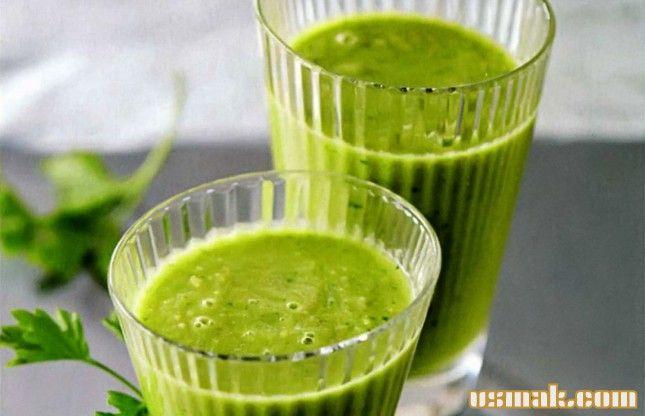 Рецепт Зеленый смузи фото