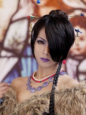 Took forever, but found a profile for this girl.  Best Lulu Cosplay I've ever seen.