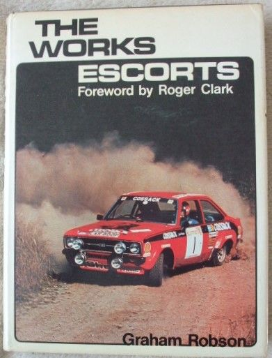 THE WORKS ESCORTS Graham Robson. 'Works' cars are usually something very special indeed. They are specially built and developed by the manufacturer to ensure they are capable of competing and winning at high levels of international motor sport. This book is about those Ford Escorts which have been used by the Ford Motor Company to race and rally.