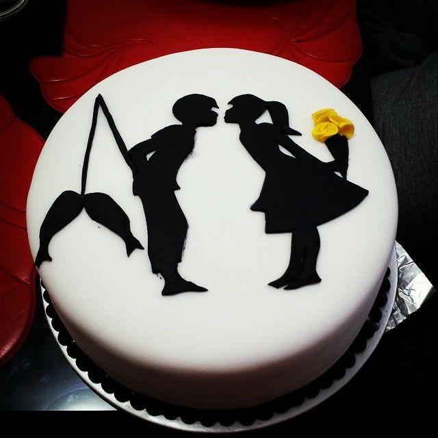 7 years Aniv cake By:julius & tanya