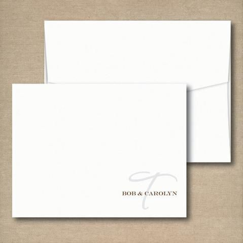 personalized notecards note cards notepad set
