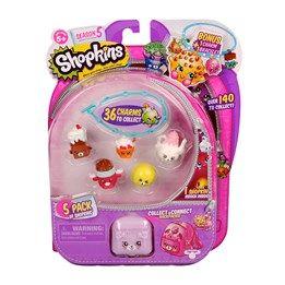 Shopkins, Serie 5, 5-pack