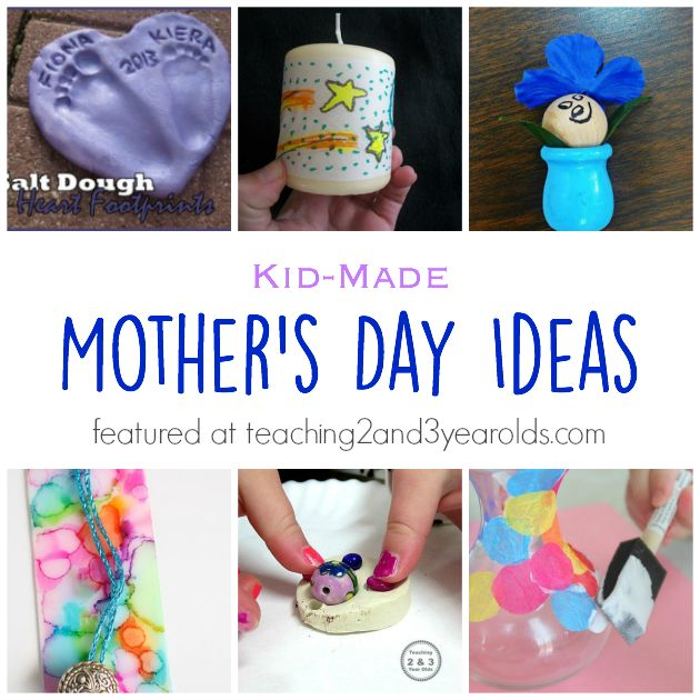 This collection of Mother's Day ideas for kids can be for Moms, Grandmas, or any special woman in a child's life. They will be cherished for a long time!
