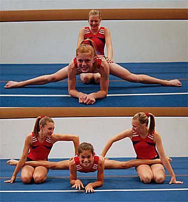 Here's step by step stretching instructions for how to do a middle split.