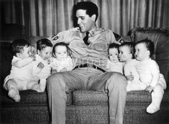 Elvis... trial baby sitter?