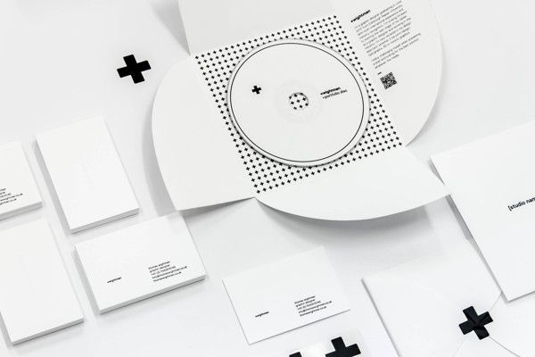 branding / cd / typography / +wightman: Personal Branding by Thomas Wightman / via Behance