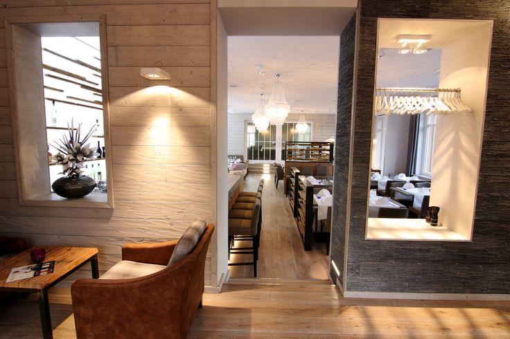 Blick von der Lounge in des Restaurant Viktoria