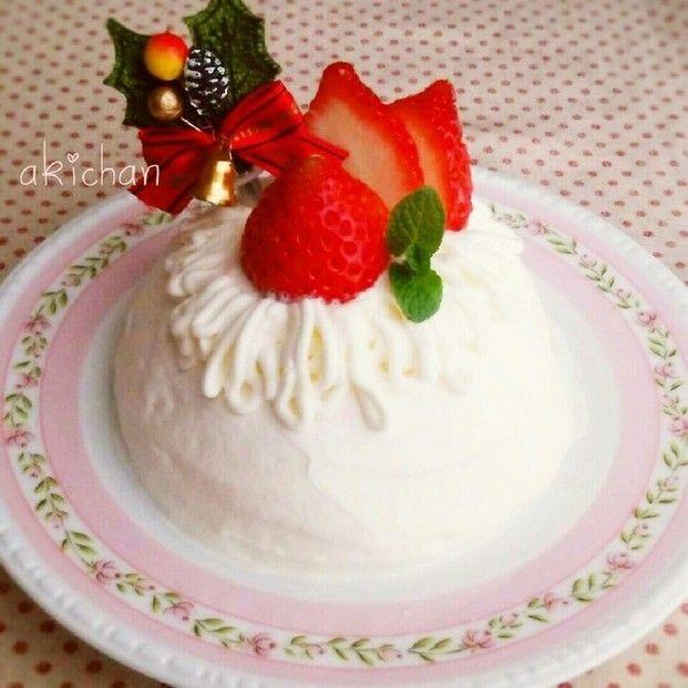 もうすぐクリスマス♡ケーキって高いから手作りしたいけど大変かも。そんな方におすすめしたいのがアイスケーキです。簡単に、可愛く仕上げるレシピをご紹介します。