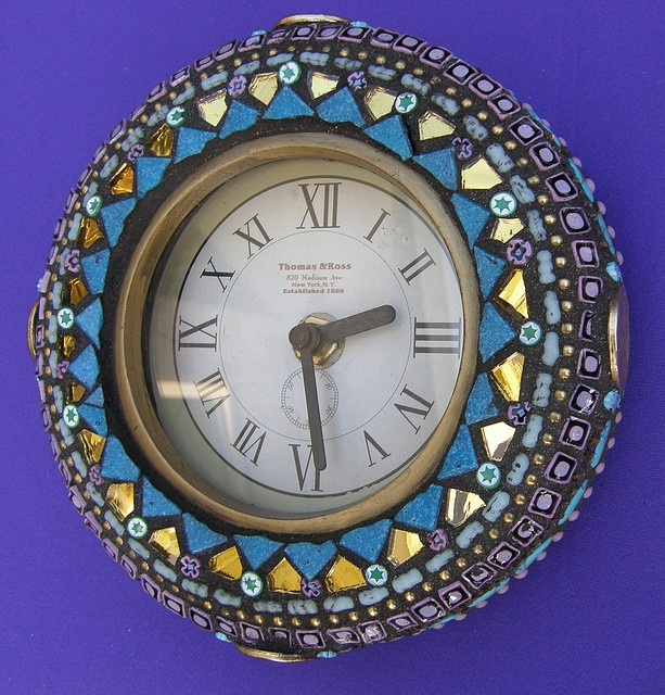 1000 Images About Mosaic Clocks On Pinterest Mosaic