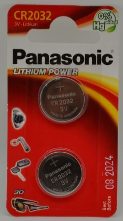 BATTERIA PANASONIC CR2032 LITHIUM 3V