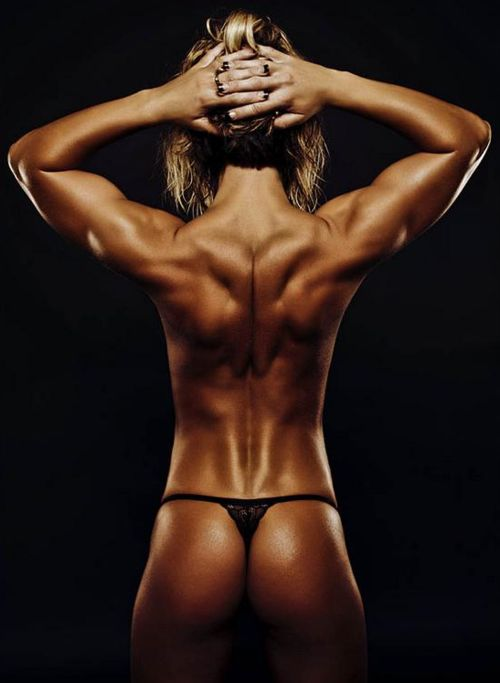 Back sexy strong tight