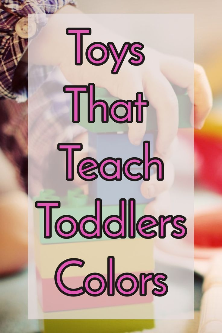 Educational Toddler Toys That  Teach Colors. Playing and learning colors can be fun with these toys that are designed to teach toddlers colors.