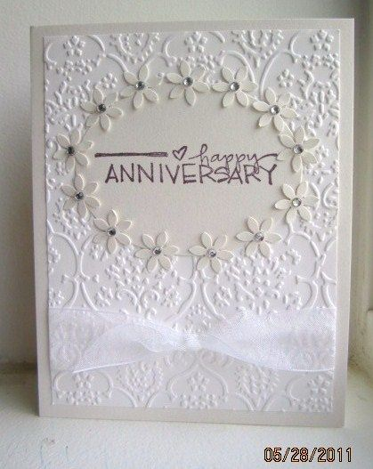 dw 60th wedding anniversary diamond by deb_loves_stamping - Cards and Paper Crafts at Splitcoaststampers