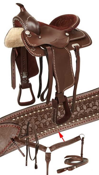 293 best cowgirl up images on pinterest horse horses and saddles this is a stunning studded show saddle which will look great in parades or on the fandeluxe Gallery