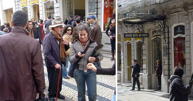 "Filmagens ""Cristovão Colombo, o enigma"" no GHP"