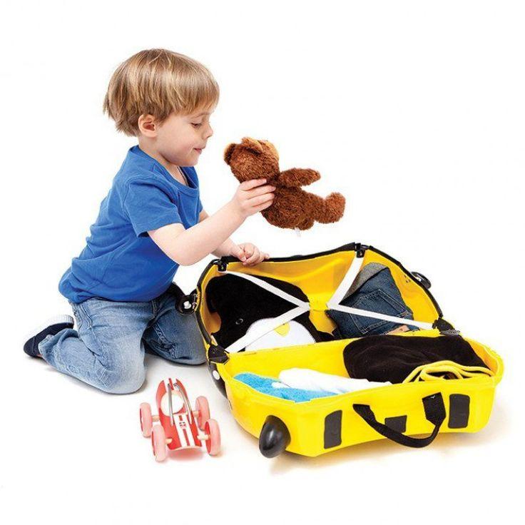 john-andy.com | Trunki Bernard Bee Παιδική Βαλίτσα Ταξιδίου