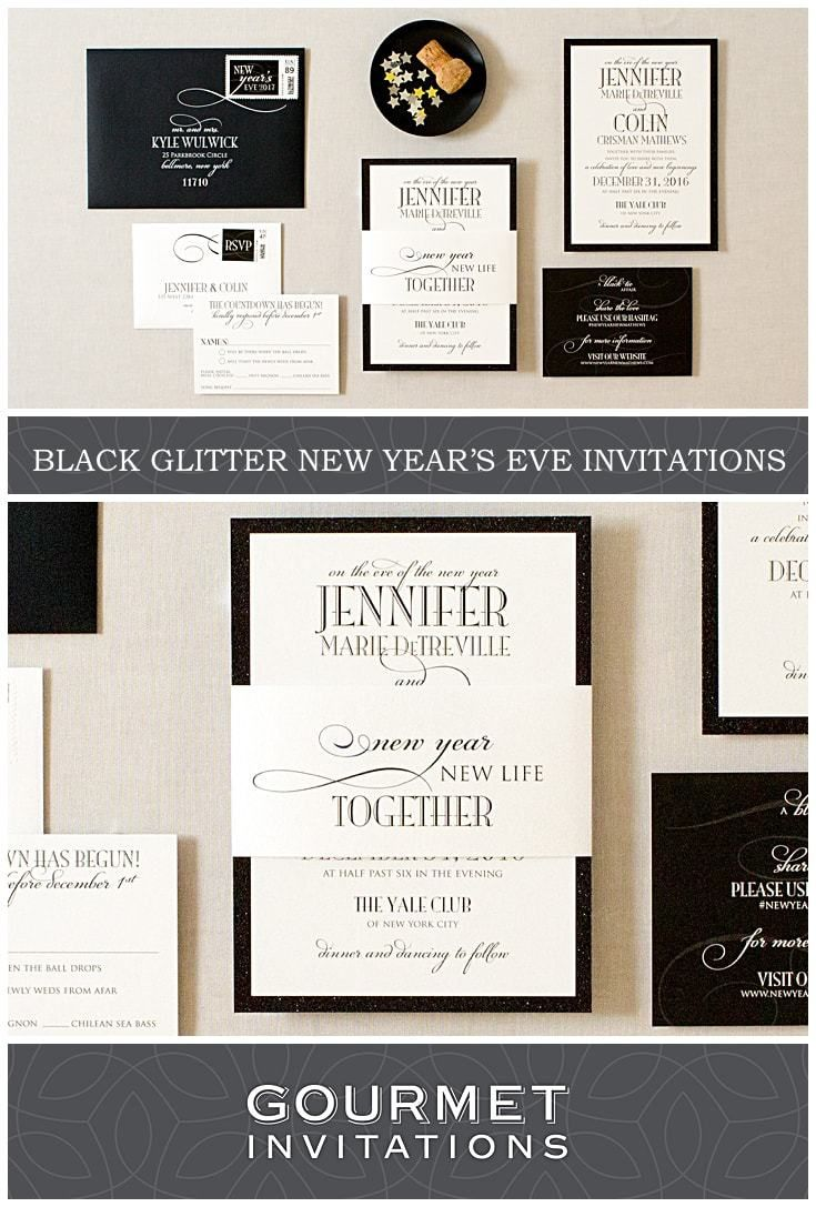 Best 104 Black Invitations Images On Pinterest Retro Wedding