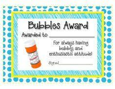 award certificates for employees