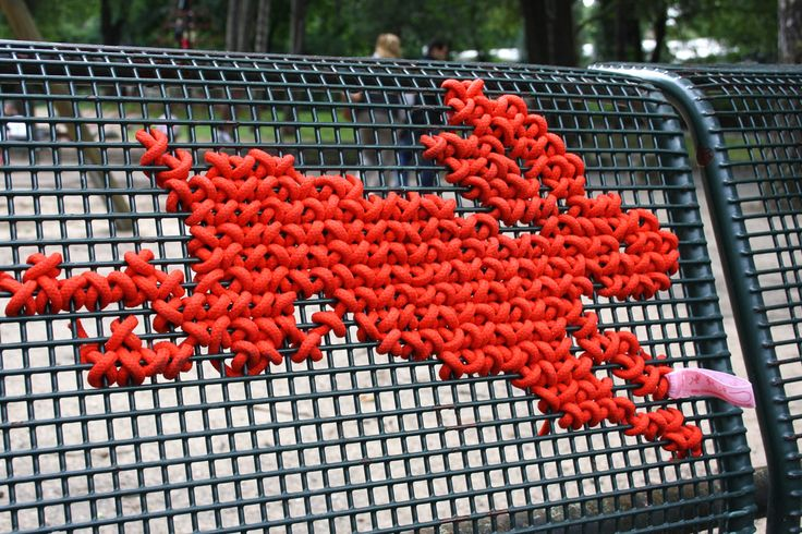 Cross Stitch Rabbit, Park Bench, in Volksgarten, Cologne, Germany by Miss Cross Stitch.