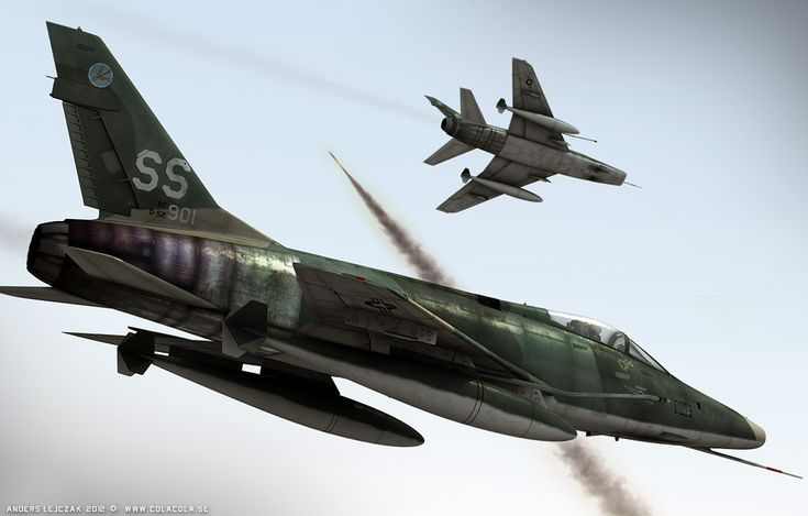 29 best images about North American F-100 Super Sabre on ...