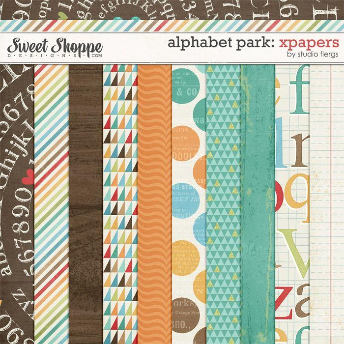 Alphabet Park: XPAPERS by Studio Flergs